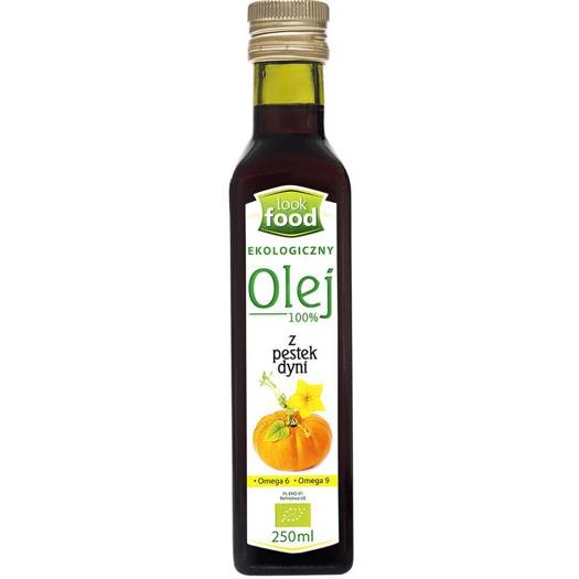 Look Food olej z pestek dyni bio 250ml